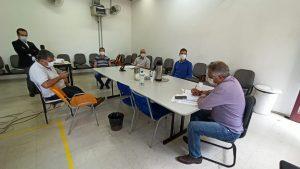 Comitê de Acompanhamento e Controle da Covid-19 se reúne com Prefeito Claudio Góes para apresentar sugestões