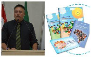 Lei do Vereador Rafael Marreiro obriga apresentação de caderneta de vacinação para matricular crianças nas escolas