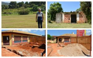 Vereador Etelvino anuncia instalação de vestiário no Campo e construção de duas salas de aula no Bairro do Carmo