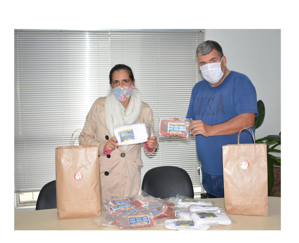 Poder Legislativo recebe máscaras doadas pelo Fundo Social de Solidariedade