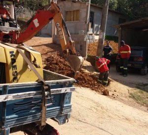 Vereador Etelvino anuncia início das ligações de água nas residências do Bairro Alto do Sabiá