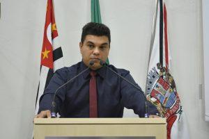 Vereador Rafael Tanzi lamenta rejeição de Emendas que beneficiariam Maylasky