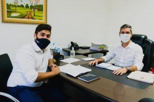 Vereador Diego Costa se reúne com Prefeito para pedir investimentos junto ao Fundo Municipal de Cultura