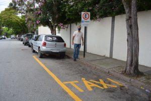Vereador Marquinho Arruda cobra infraestrutura para os novos pontos de táxi