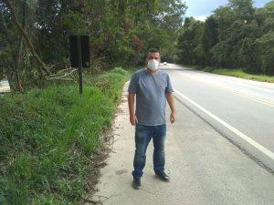 Vereador Thiago Nunes pede ao DER poda de árvores e limpeza da Rodovia Engº Renê Benedito da Silva