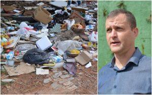 """Vereador Cabo Jean pede Programa """"Cata Treco"""" e área para descarte de resíduos sólidos"""
