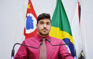 Vereador Diego Costa propõe PL para Dia Municipal da Juventude
