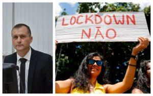 Cabo Jean condena possibilidade de Lockdown em São Roque