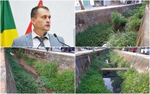 Cabo Jean denuncia abandono e cobra finalização das obras da Av. 16 de Agosto no bairro Junqueira