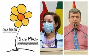 Pelo Dia Nacional de Combate ao Abuso e Exploração Sexual Infantil, Vereadores Dra. Claudia e Toco homenageiam Conselheiros Tutelares