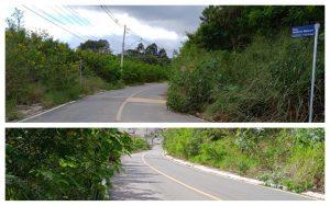 Após seis meses cobrando Cabo Jean relata total abandono da Rua Antonio Meleiro e das Estradas do Caetê e do Carmo