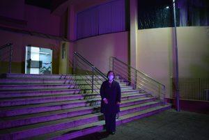 Prédio da Câmara é iluminado com a cor Lilás para chamar a atenção pelo fim da violência contra as mulheres