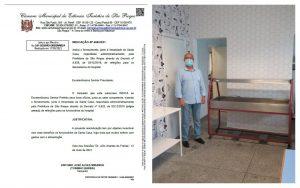 Após Indicação do Vereador Toninho Barba, Santa Casa oferece refeição aos seus funcionários