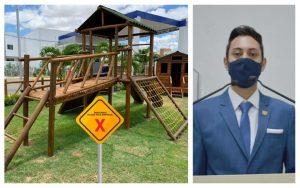Projeto de Lei prevê doação e instalação de Playground para crianças por pessoas jurídicas e físicas