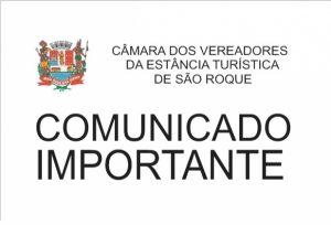 Câmara Municipal realiza Sessão Extraordinária nesta quinta-feira, dia 14