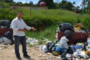 Vereador Flávio Brito cobra roçada, capinação, coleta de lixo e manutenção de estradas de São João Novo