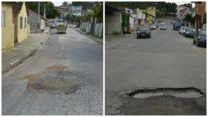 Vereador Flávio Brito pede manutenção para ruas de São João Novo