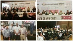 Vereadores participam do 60º Congresso Estadual de Municípios