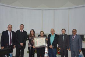Dia da Comunidade Italiana é celebrado com Sessão Solene na Câmara Municipal