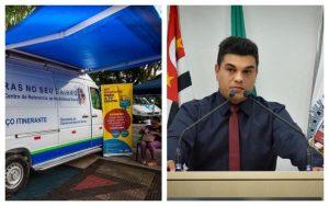 Vereador Rafael Tanzi indica criação do CRAS itinerante em São Roque