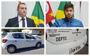 Vereadores fiscalizam denúncia de retirada do veículo da Saúde para o Departamento de Imprensa da Prefeitura