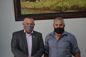 Presidente da Câmara recebe visita do Deputado Federal Dr. Jorge do Carmo