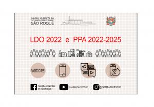LDO e PPA estão disponíveis para consulta no site da Câmara Municipal