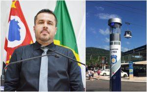 Por mais segurança, vereador Thiago Nunes indica ao Executivo a instalação de totens com câmeras de monitoramento e equipamentos de áudio
