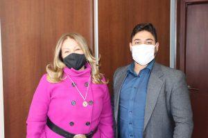 Diego Costa visita Maria Lucia Amary para agradecer pelas Emendas e firma parceria com a Deputada para o envio de mais verbas