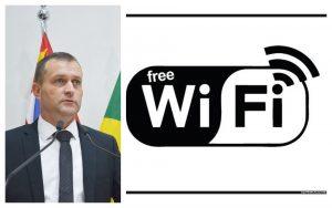 Vereador Cabo Jean pede ao Executivo internet gratuita em praças da região central e nos distritos