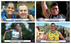 Vereador Thiago Nunes homenageia atletas e profissionais são-roquenses que participarão das próximas Olimpíadas e Paralimpíadas