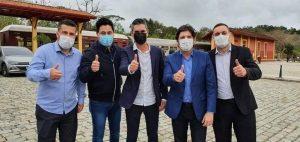 Vereadores visitam Centro de Segurança Integrado em Guararema
