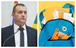Com dinheiro da Educação sobrando nos cofres da Prefeitura, Cabo Jean sugere fornecimento de uniformes e materiais escolares aos alunos da rede municipal