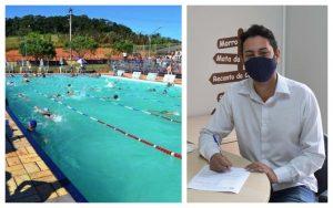 Vereador William Albuquerque busca reforma da piscina da Escola Projeto II no Bairro Paisagem Colonial